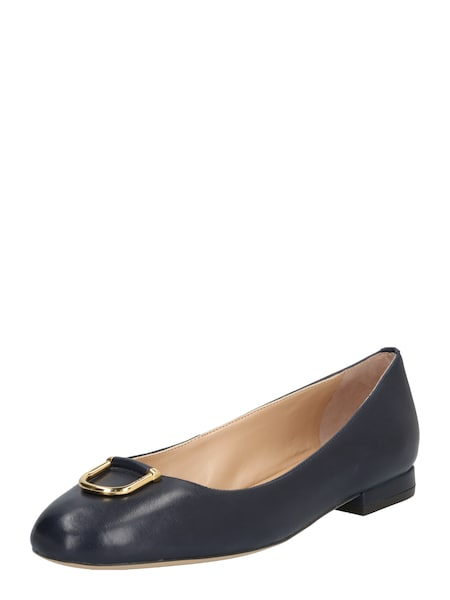 Ballerinas für Frauen - Ballerina 'GALYN' › Lauren Ralph Lauren › navy  - Onlineshop ABOUT YOU