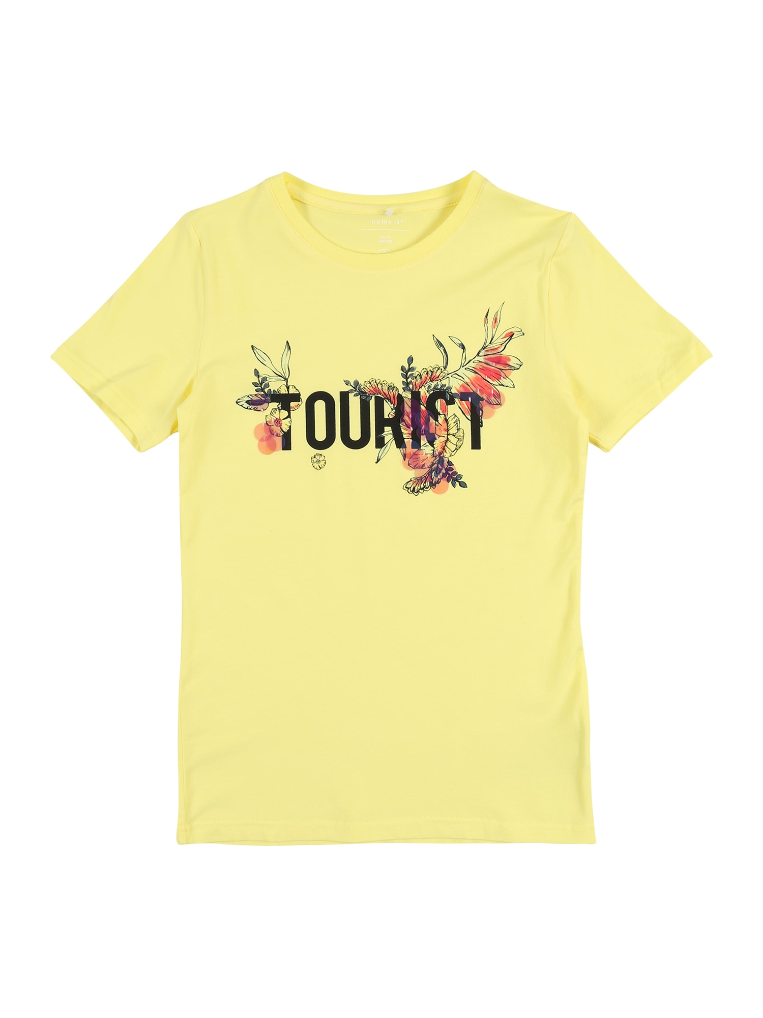 NAME IT Marškinėliai 'NKFHAILEE' geltona