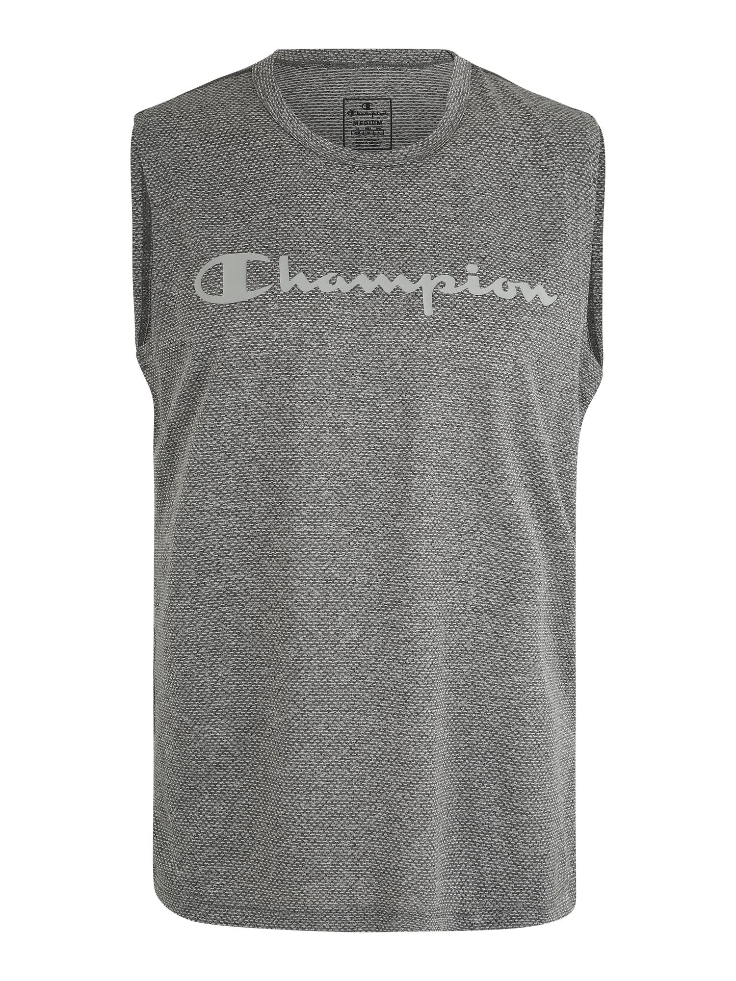Champion Authentic Athletic Apparel Sportiniai marškinėliai tamsiai pilka