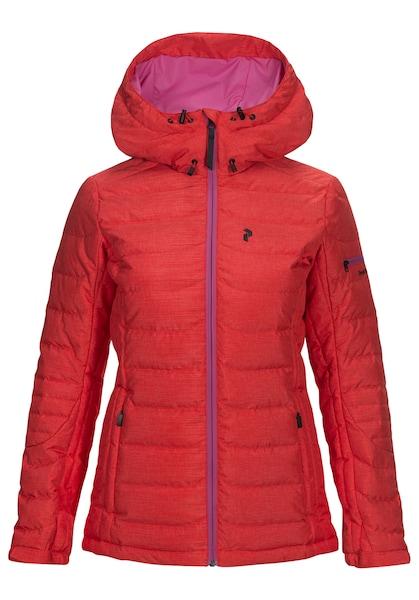 Jacken für Frauen - PEAK PERFORMANCE Skijacke 'Hipe Ace Blackburn' rot  - Onlineshop ABOUT YOU