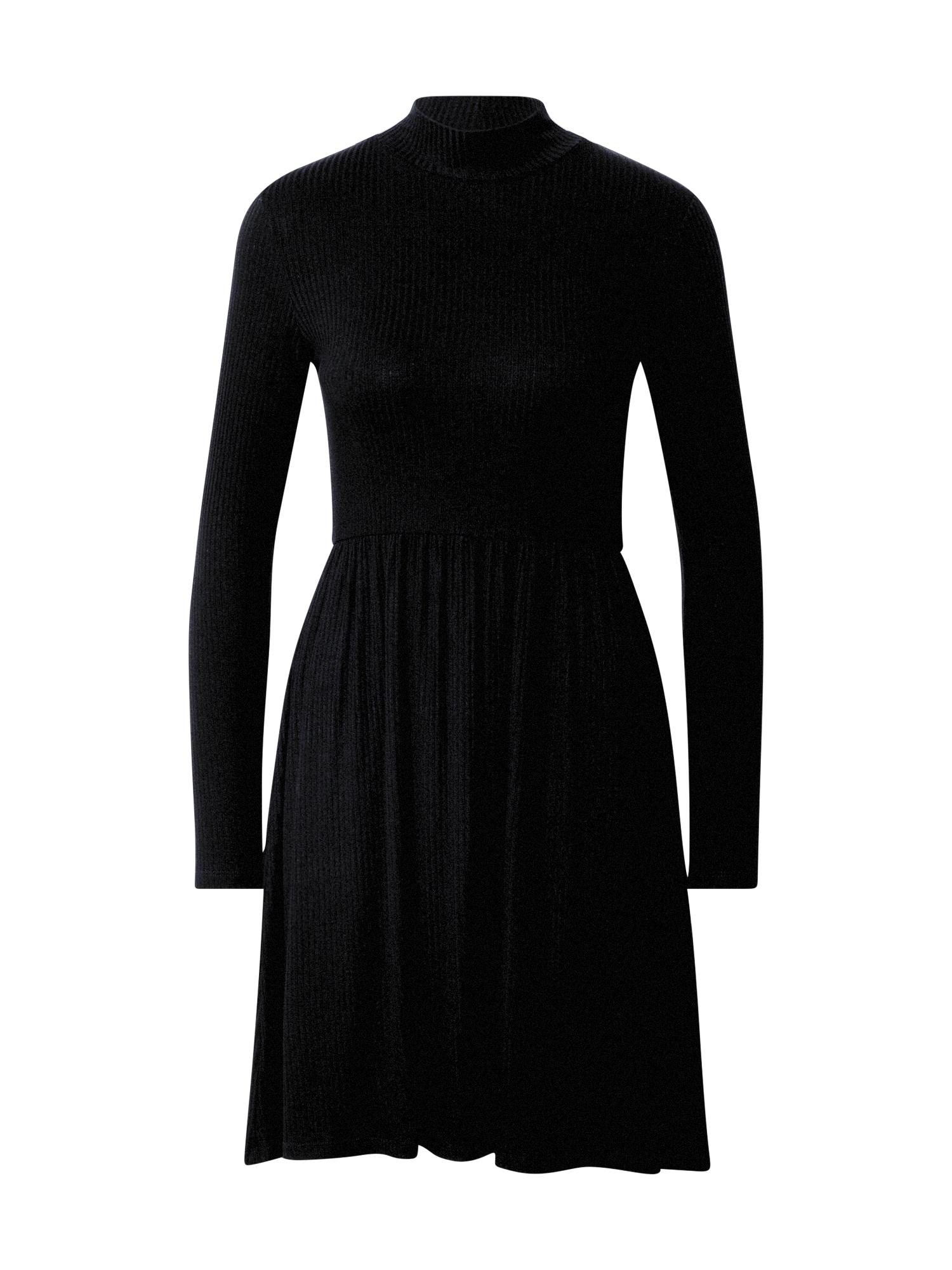 ABOUT YOU Megzta suknelė 'Gwen' juoda