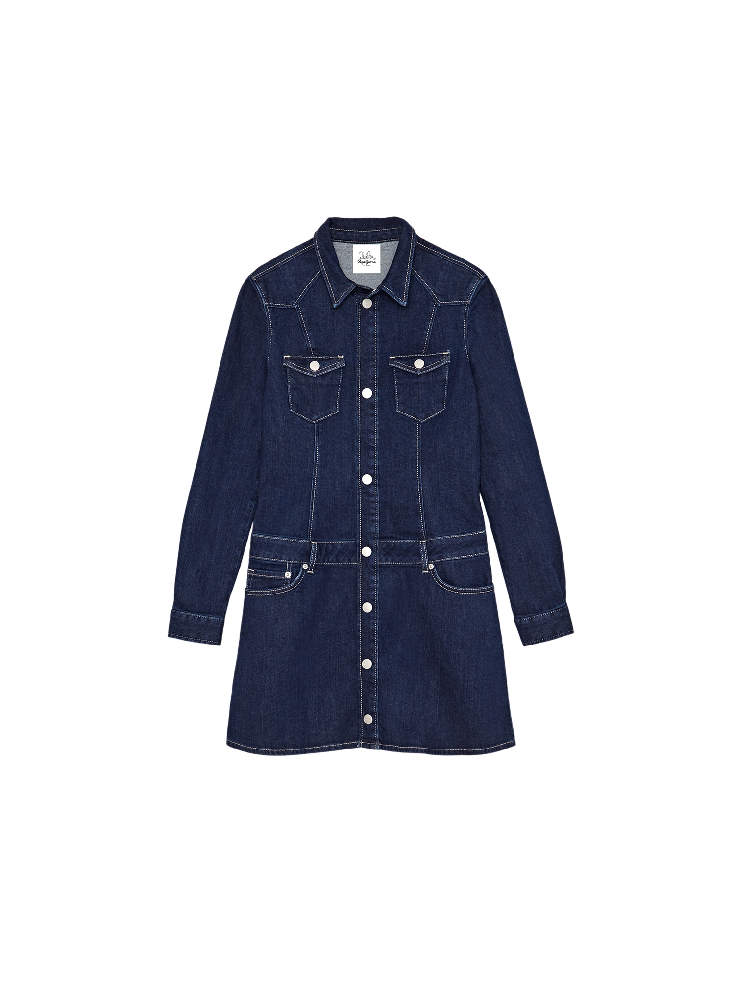 Pepe Jeans Suknelė 'DAKOTA' tamsiai (džinso) mėlyna