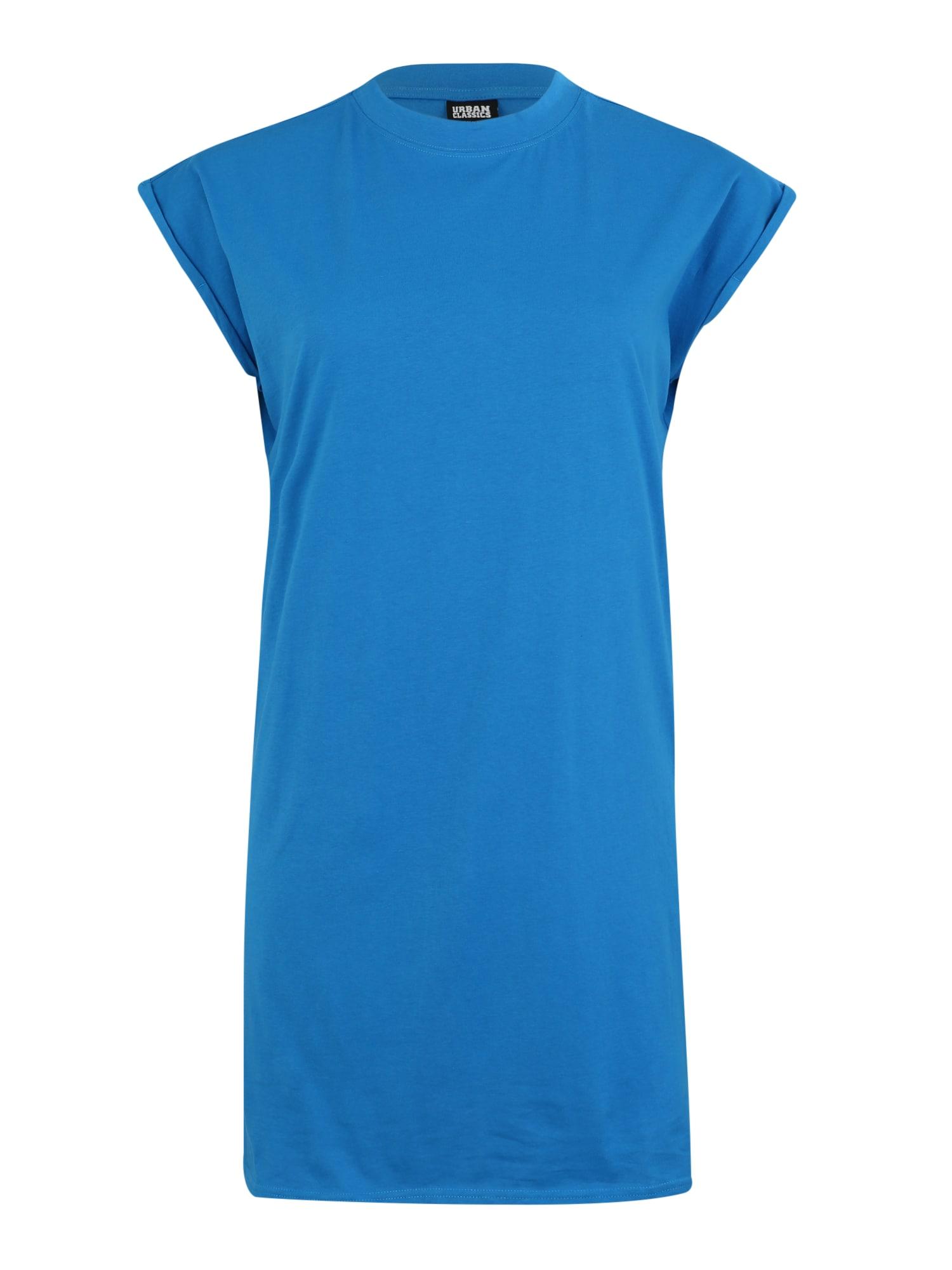 Urban Classics Curvy Suknelė 'Turtle' mėlyna