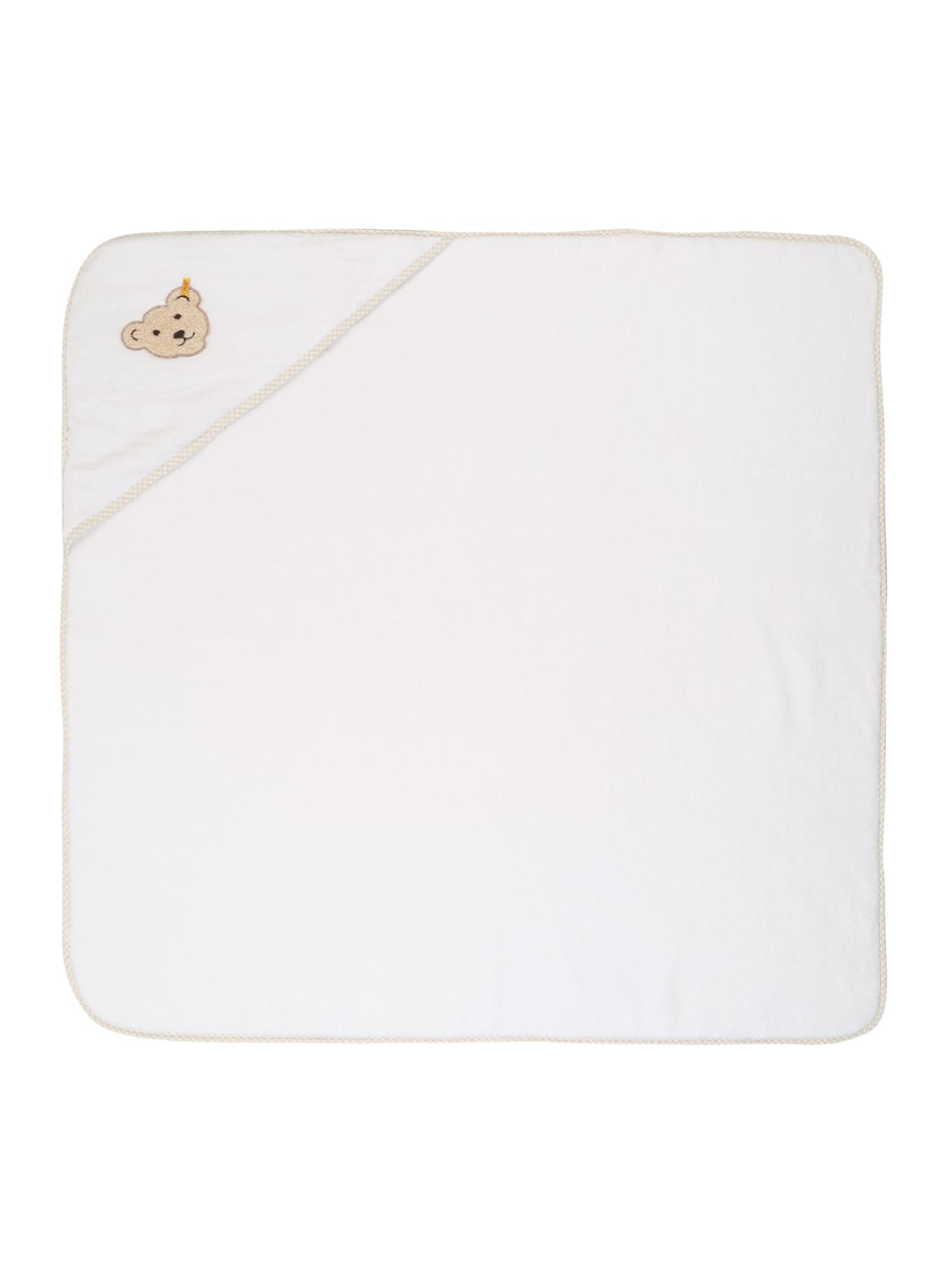 Koupací plášť bílá Steiff Collection
