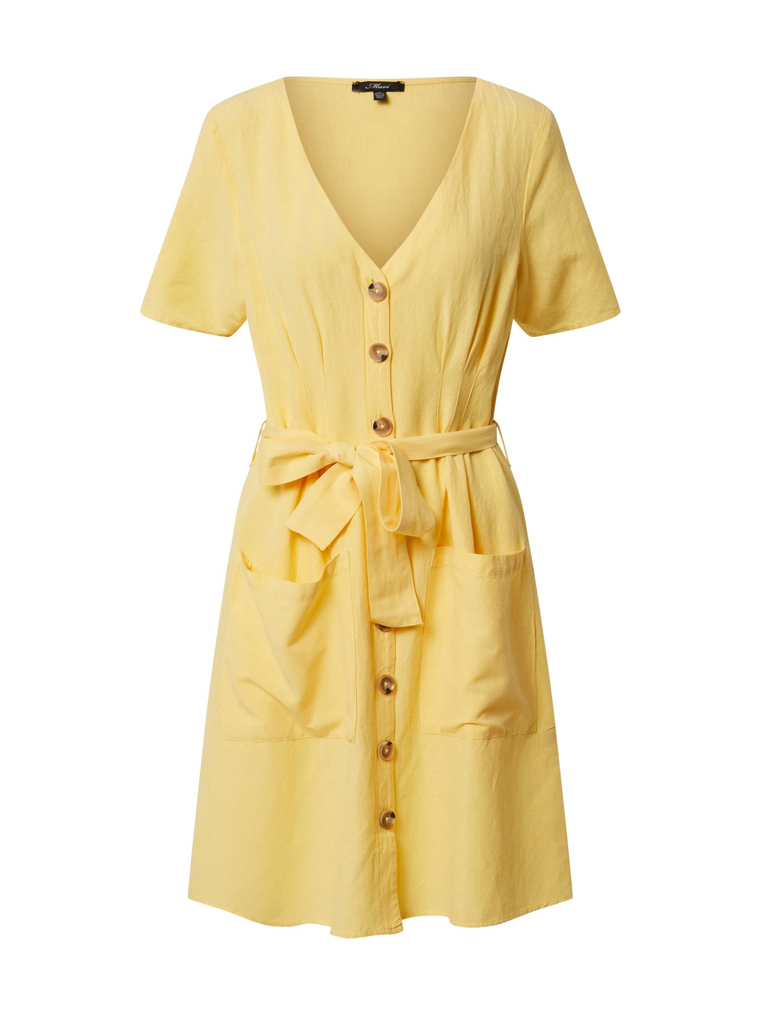 Mavi Vasarinė suknelė geltona
