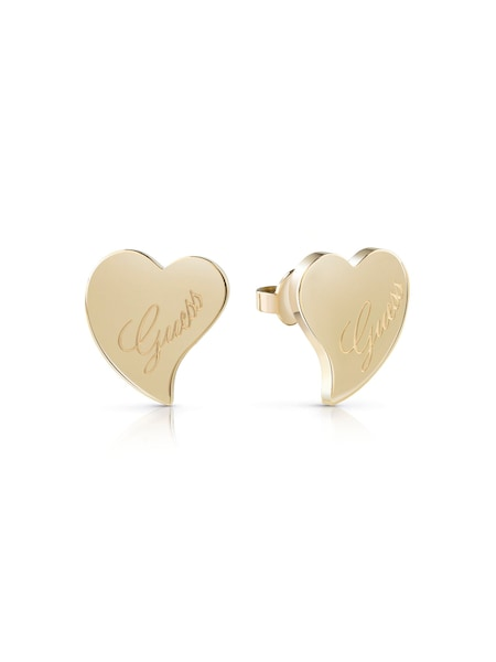 Ohrringe für Frauen - GUESS Ohrringe 'Love, UBE28047' gold  - Onlineshop ABOUT YOU