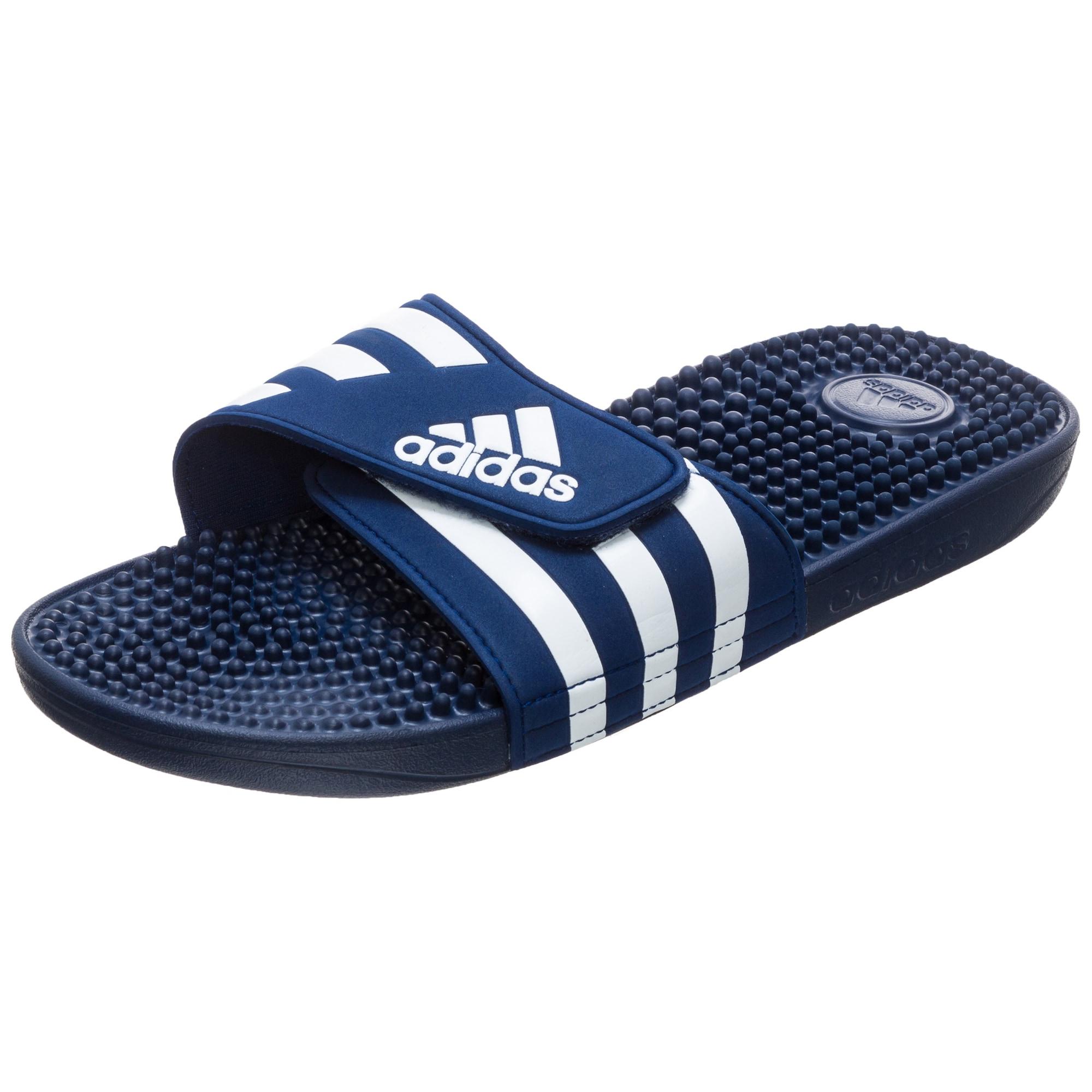 ADIDAS PERFORMANCE Sandalai / maudymosi batai balta / nakties mėlyna