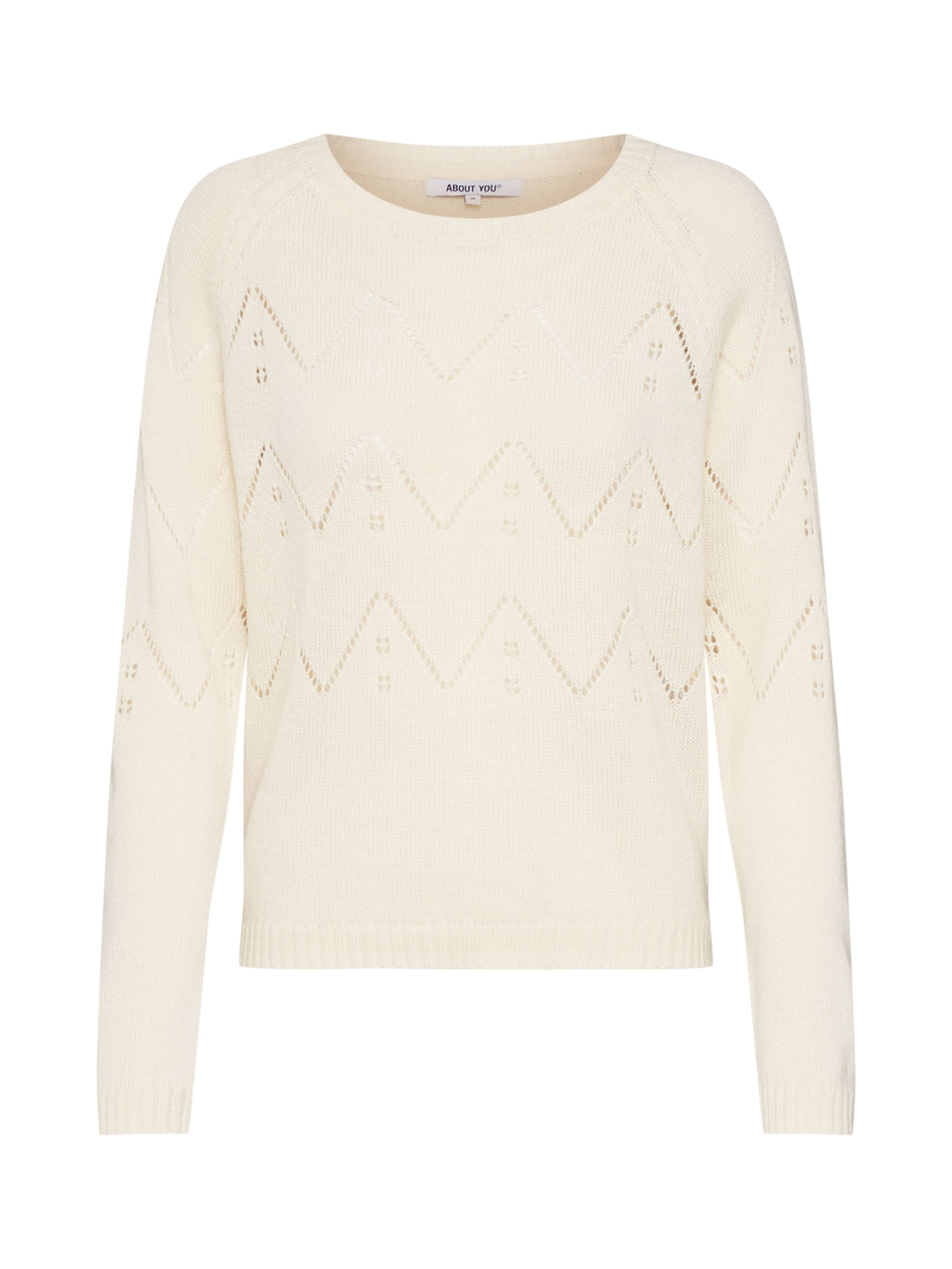 Damen ABOUT YOU Pullover 'Female' creme,  beige | 04063062845398