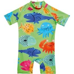 Next Jungen,Kinder,Kinder,Jungen Schwimmanzug für Jungen grün | 05057639763474