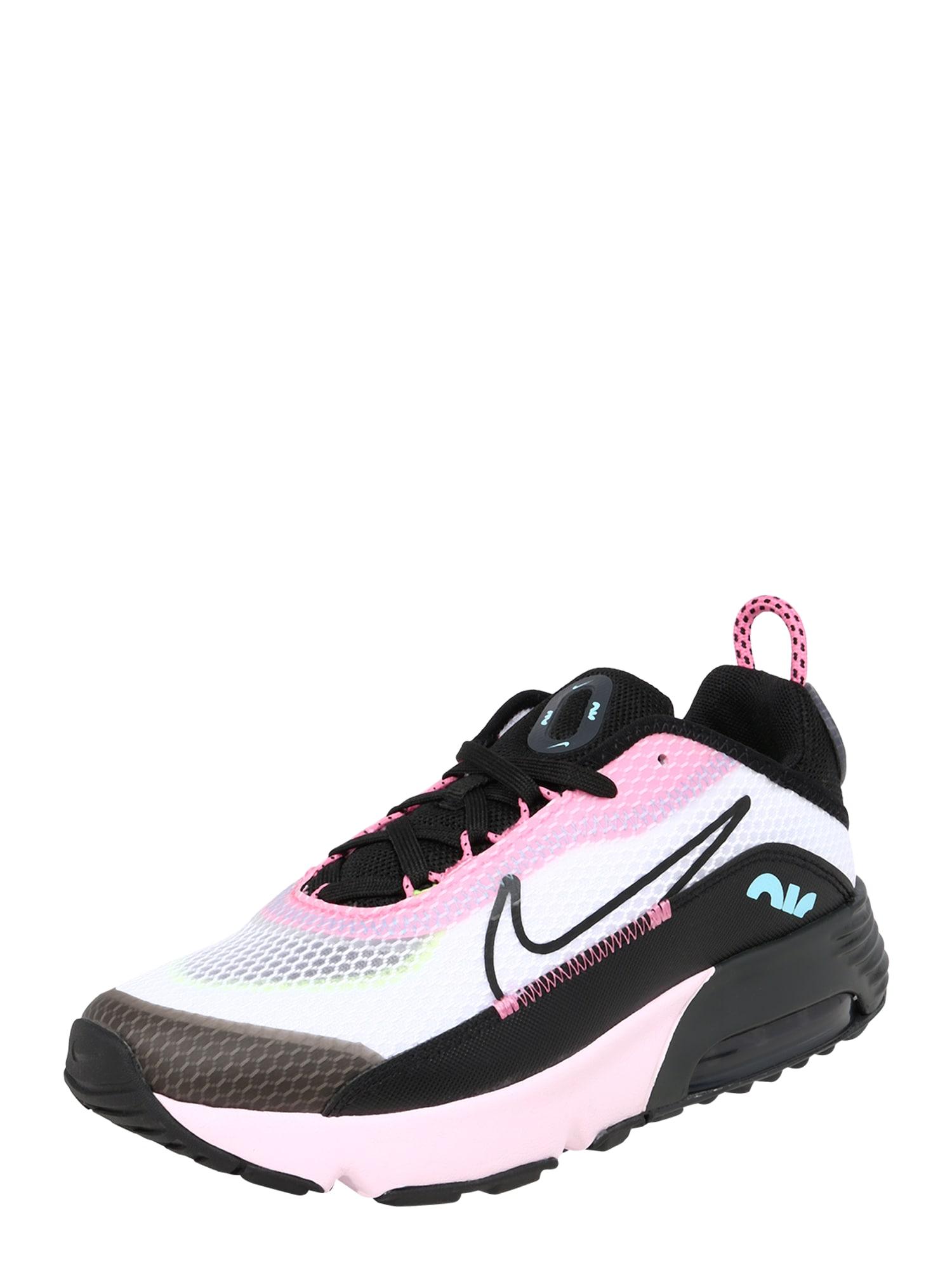 Nike Sportswear Tenisky 'Air Max 2090 (PS)'  černá / bílá / pink