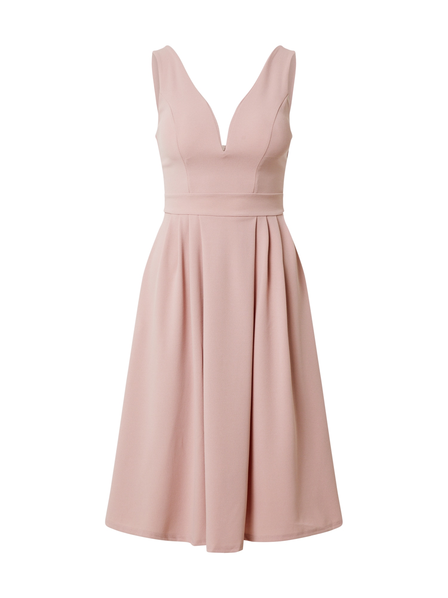 WAL G. Kokteilinė suknelė pudros spalva