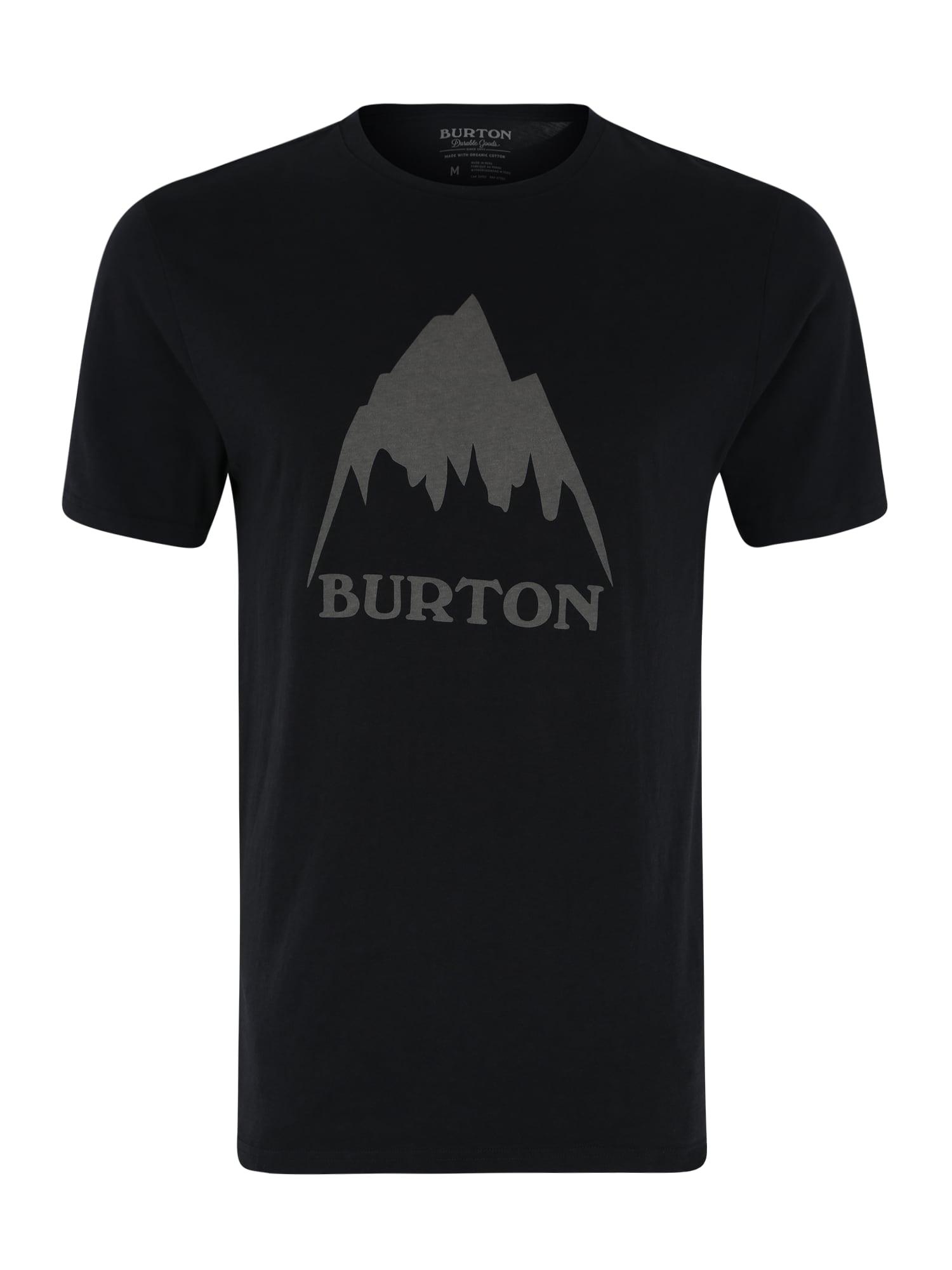 BURTON Funkční tričko 'MB CLSSMTNHGH SS'  černá / šedá