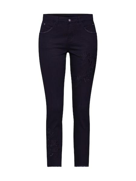 Hosen für Frauen - Jeans 'Katy Fit' › Cream › black denim  - Onlineshop ABOUT YOU