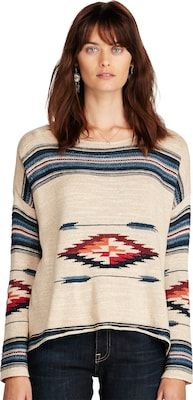 DENIM & SUPPLY Ralph Lauren Pullover mit Ethnomuster