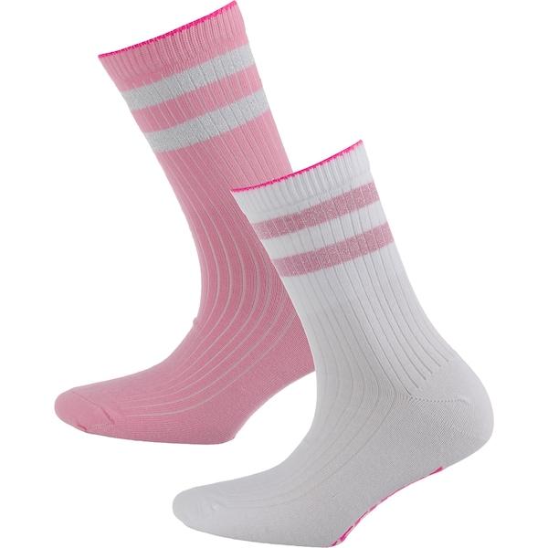 Socken für Frauen - SKECHERS Socken pink weiß  - Onlineshop ABOUT YOU