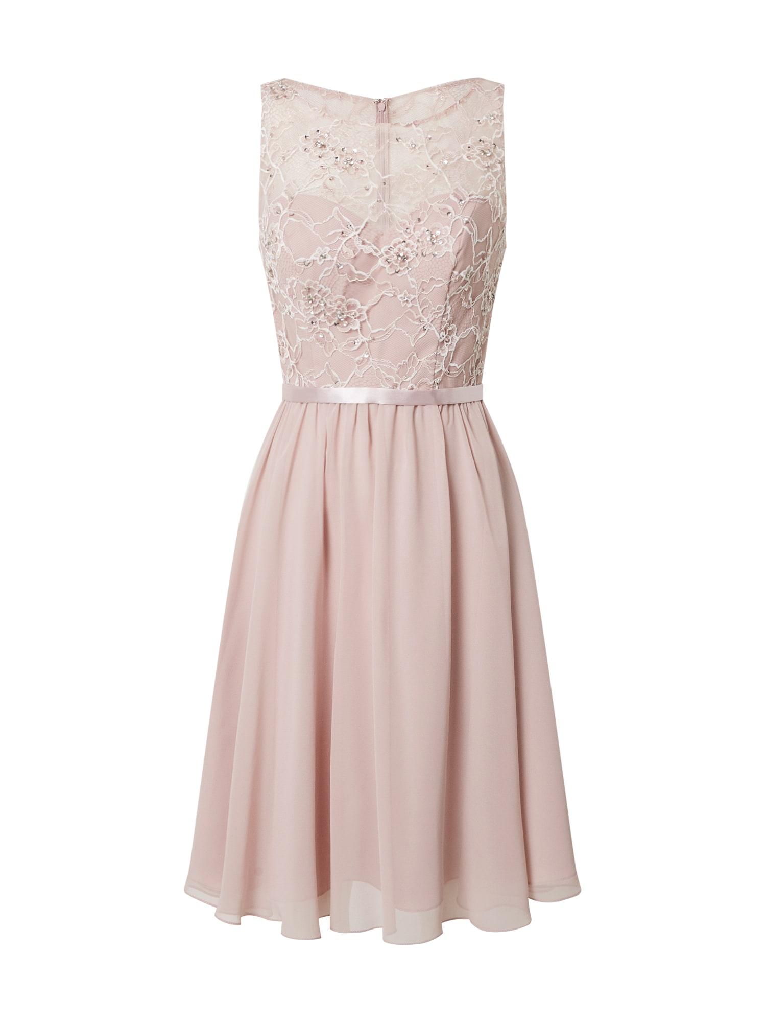 MAGIC NIGHTS Kokteilinė suknelė rausvai violetinė spalva
