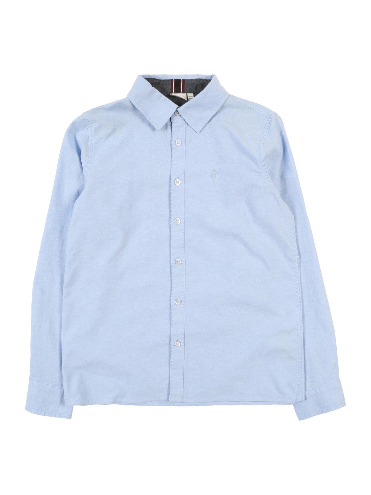 NAME IT Dalykiniai marškiniai šviesiai mėlyna
