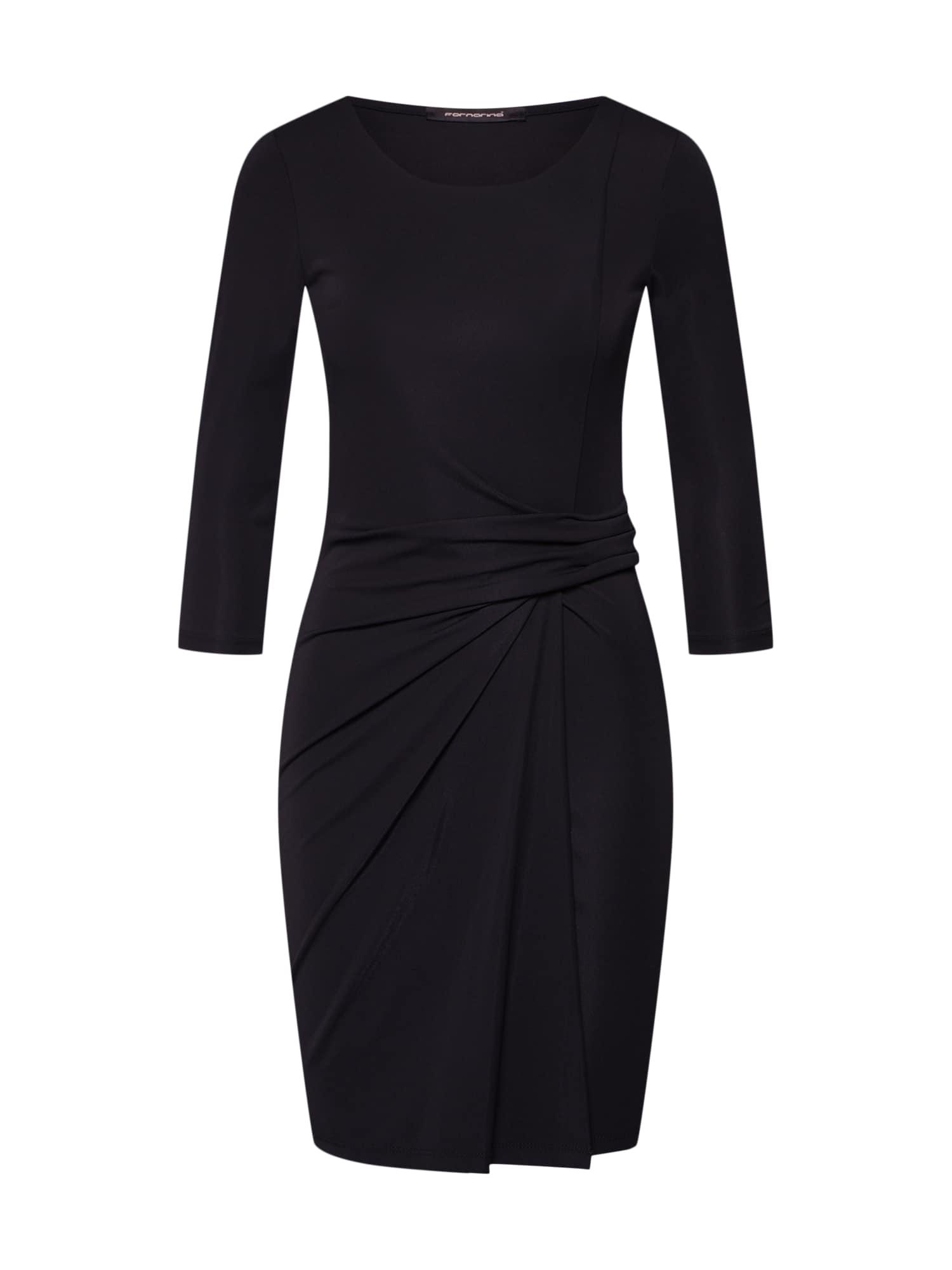 Šaty BARITE černá Fornarina