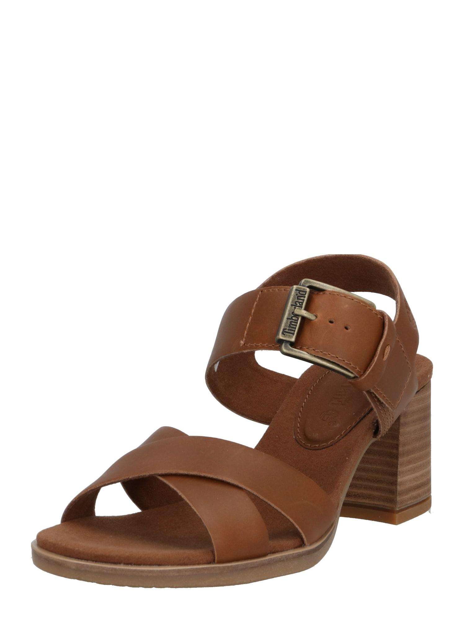 TIMBERLAND Sandále  svetlohnedá / hnedé