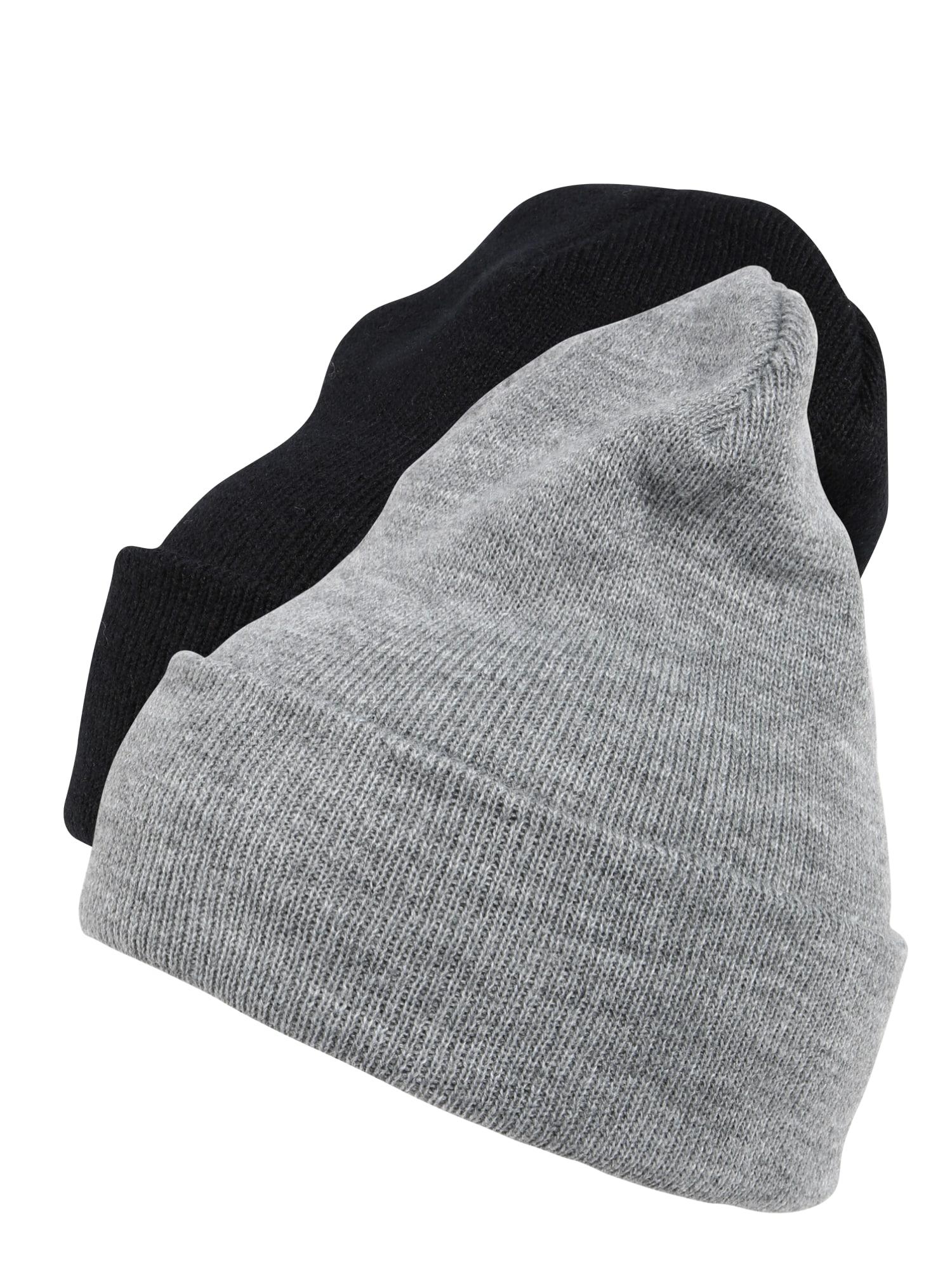 Flexfit Căciulă 'Pre-Pack Heavyweight Long Beanie'  gri / negru