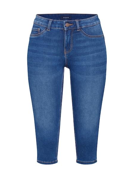 Hosen für Frauen - PIECES Jeans 'PCSAGE' blue denim  - Onlineshop ABOUT YOU