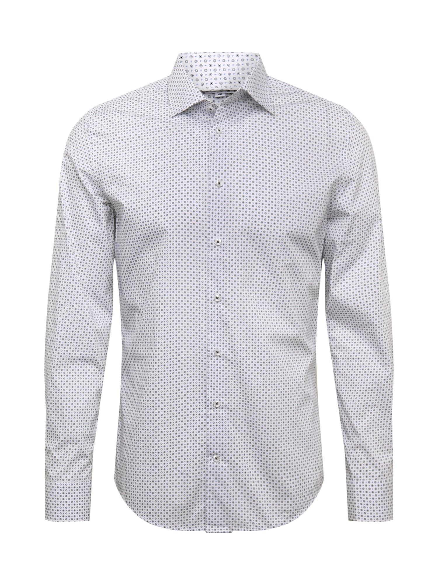 SEIDENSTICKER Marškiniai balta / mėlyna