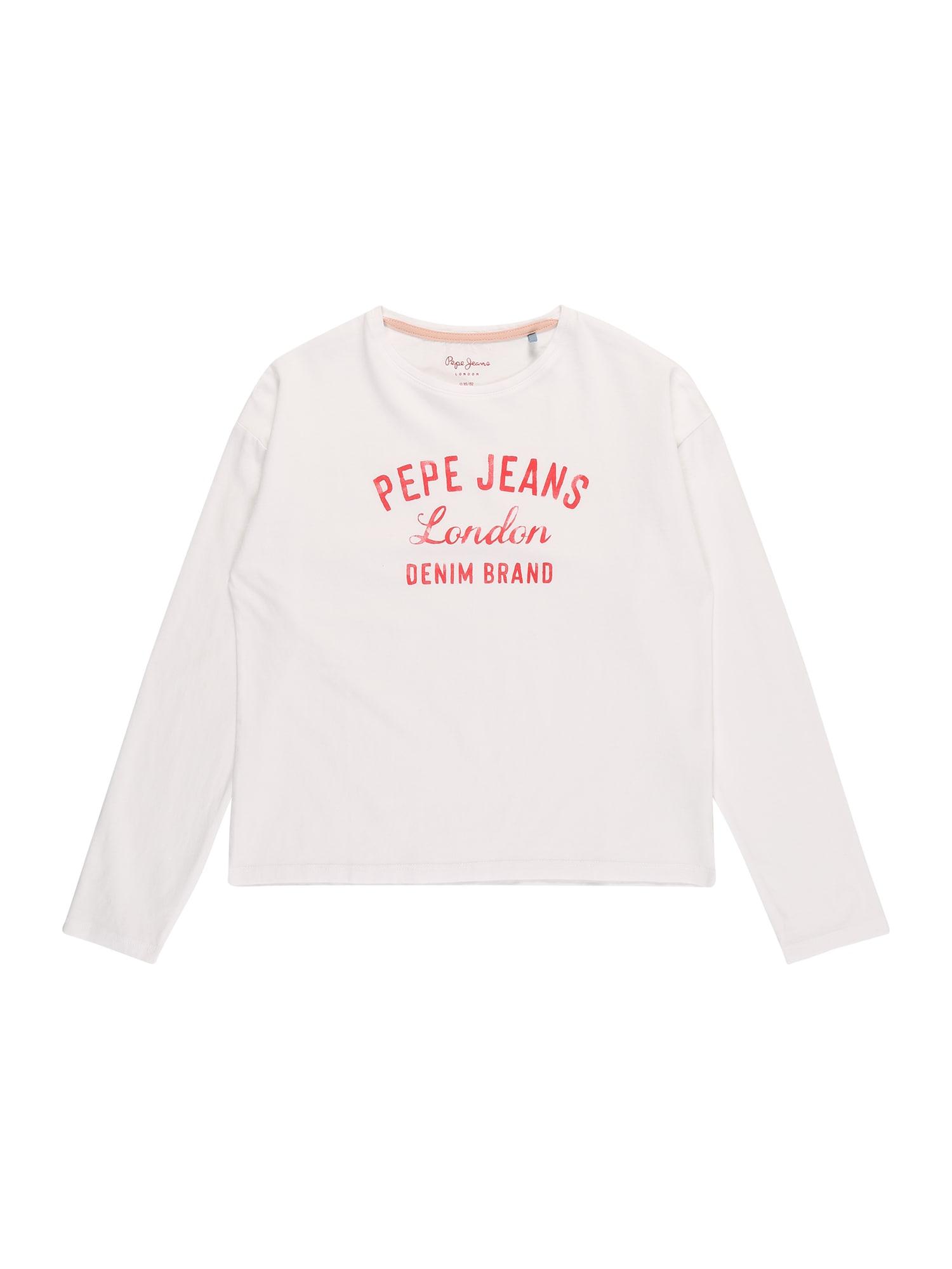 Pepe Jeans Marškinėliai 'CIARA' balta