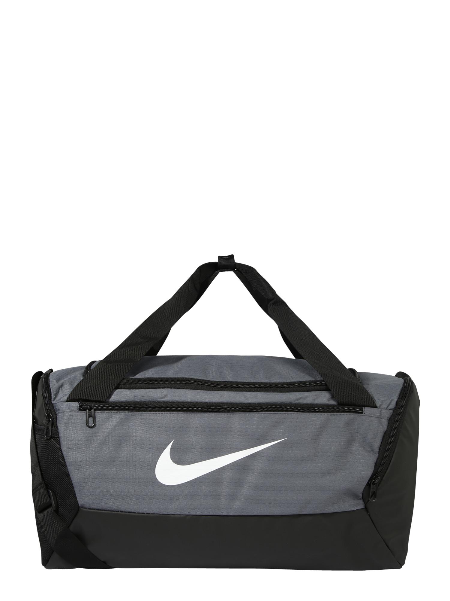 NIKE Sportinis krepšys 'BRSLA S DUFF - 9.0' pilka