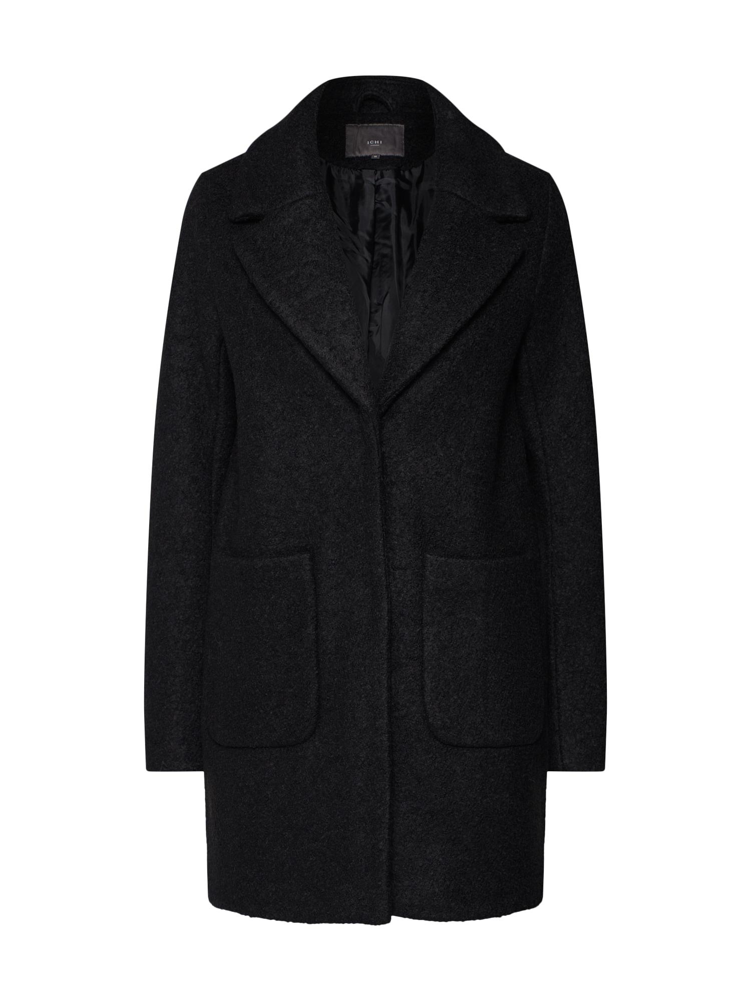 ICHI Rudeninis-žieminis paltas juoda
