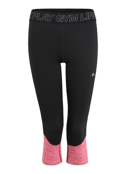 Sportmode für Frauen - Trainingstights 'onpJACEY' › ONLY PLAY › pink schwarz  - Onlineshop ABOUT YOU