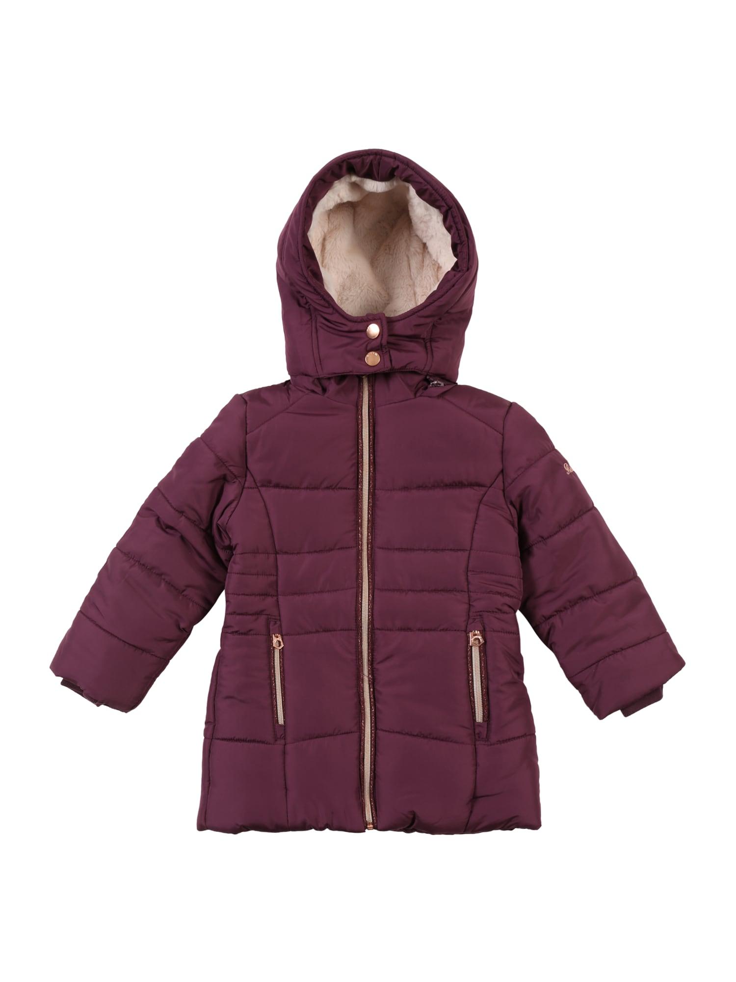 REVIEW FOR KIDS Žieminė striukė uogų spalva