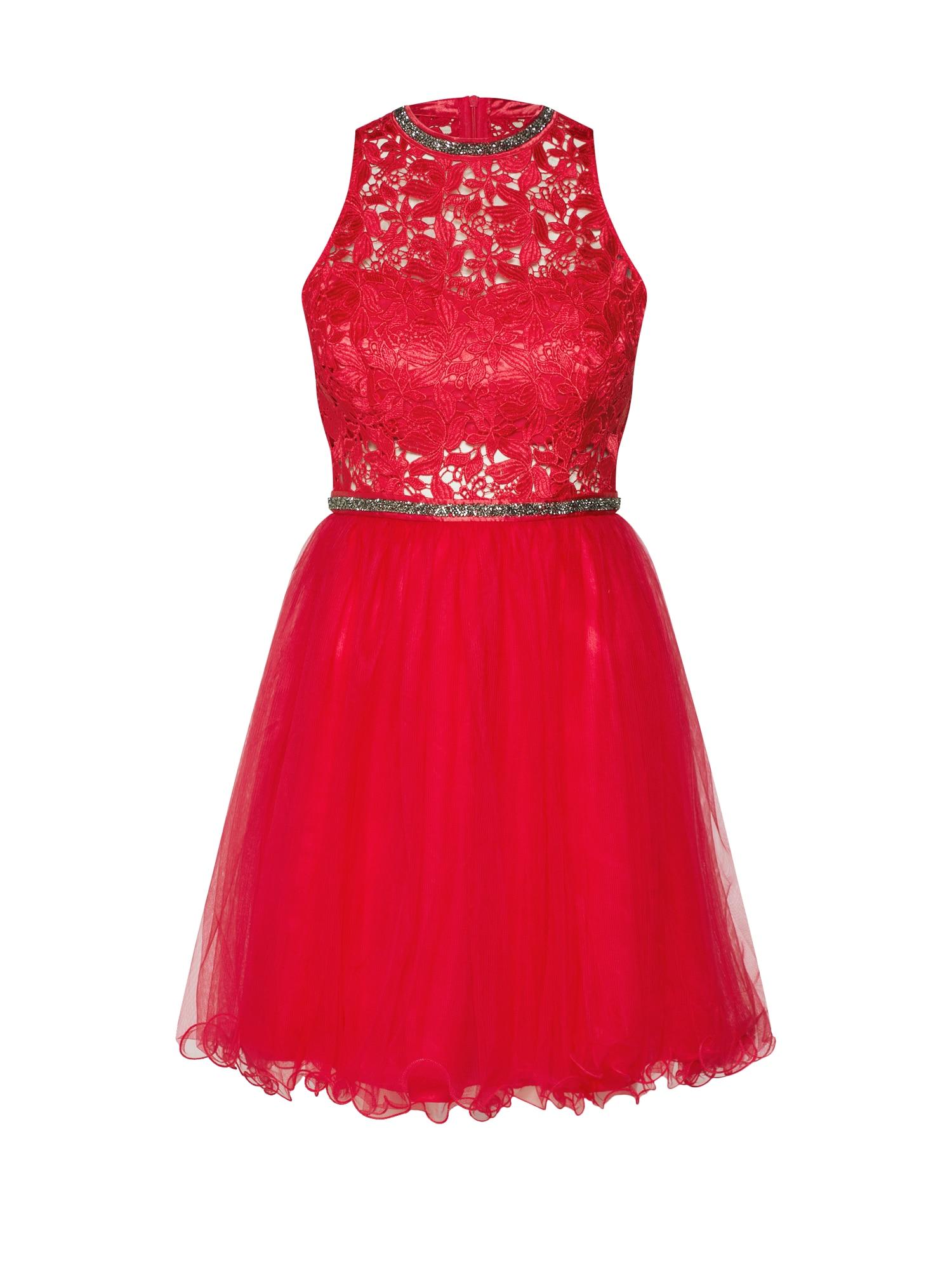 Koktejlové šaty korálová SUDDENLY Princess