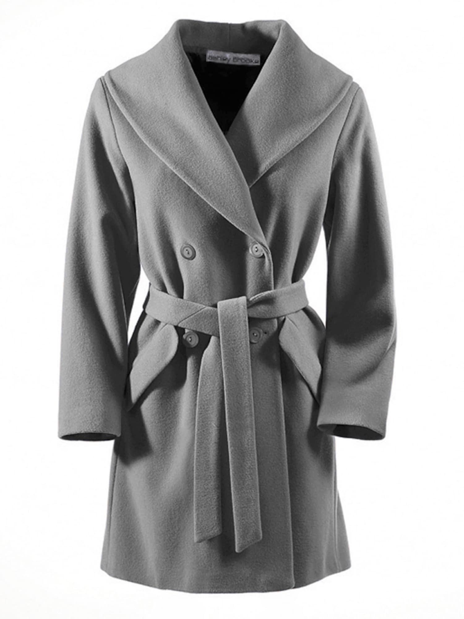 heine Demisezoninis paltas sidabro pilka