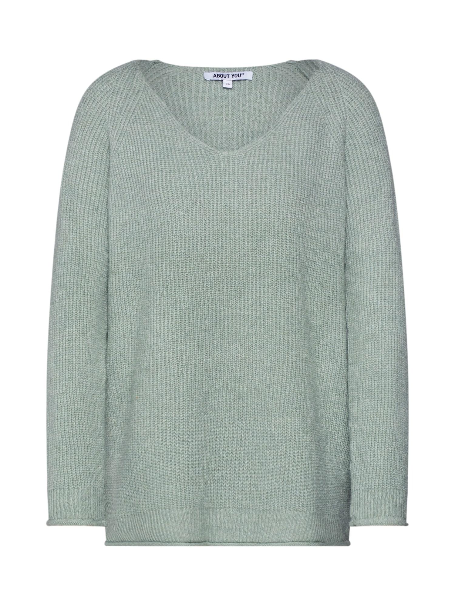 ABOUT YOU Megztinis 'Laren' mėtų spalva