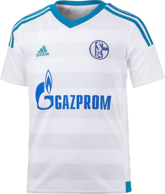 ADIDAS PERFORMANCE 'Schalke 04 15/16 Away' Fußballtrikot