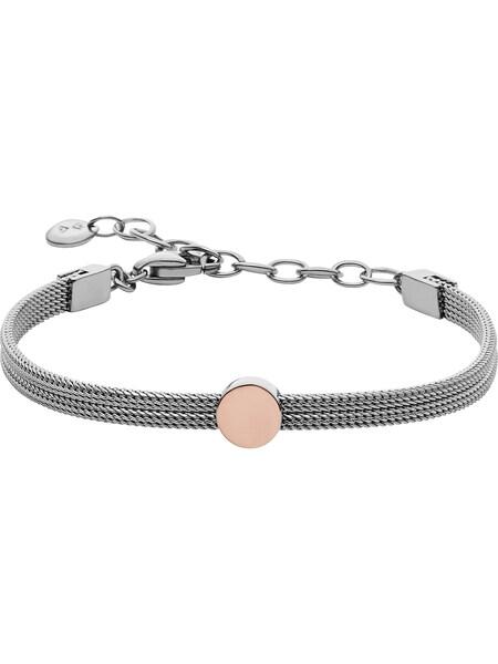 Armbaender - Armband › skagen › rosegold silber  - Onlineshop ABOUT YOU
