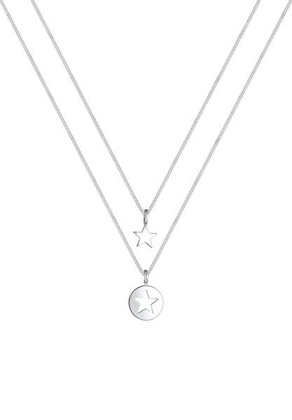 Schmucksets für Frauen - ELLI Halskette silber  - Onlineshop ABOUT YOU
