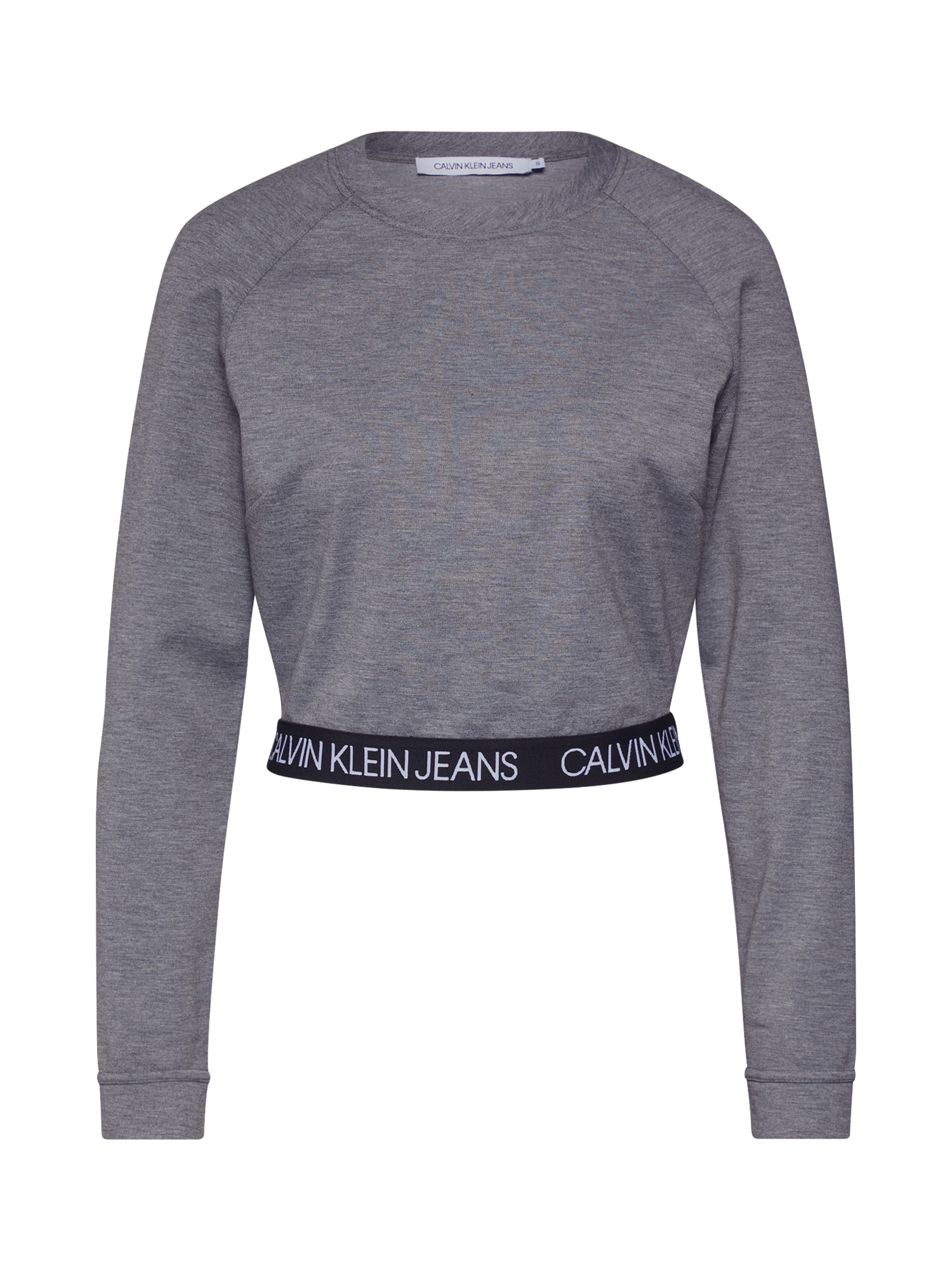 Calvin Klein Jeans Megztinis be užsegimo margai pilka