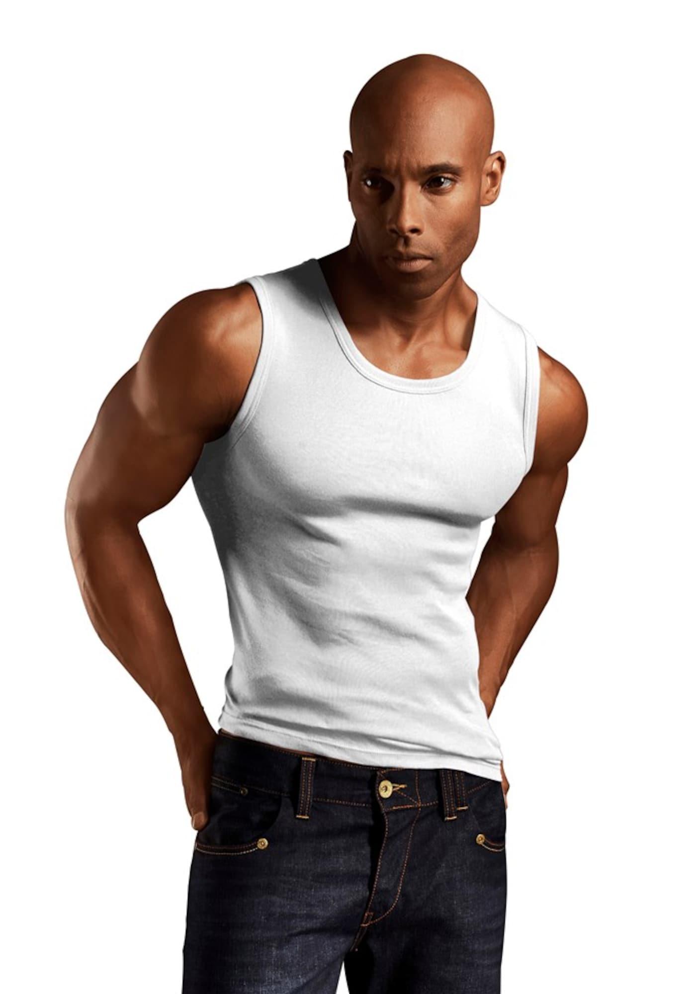 H.I.S Apatiniai marškinėliai balta