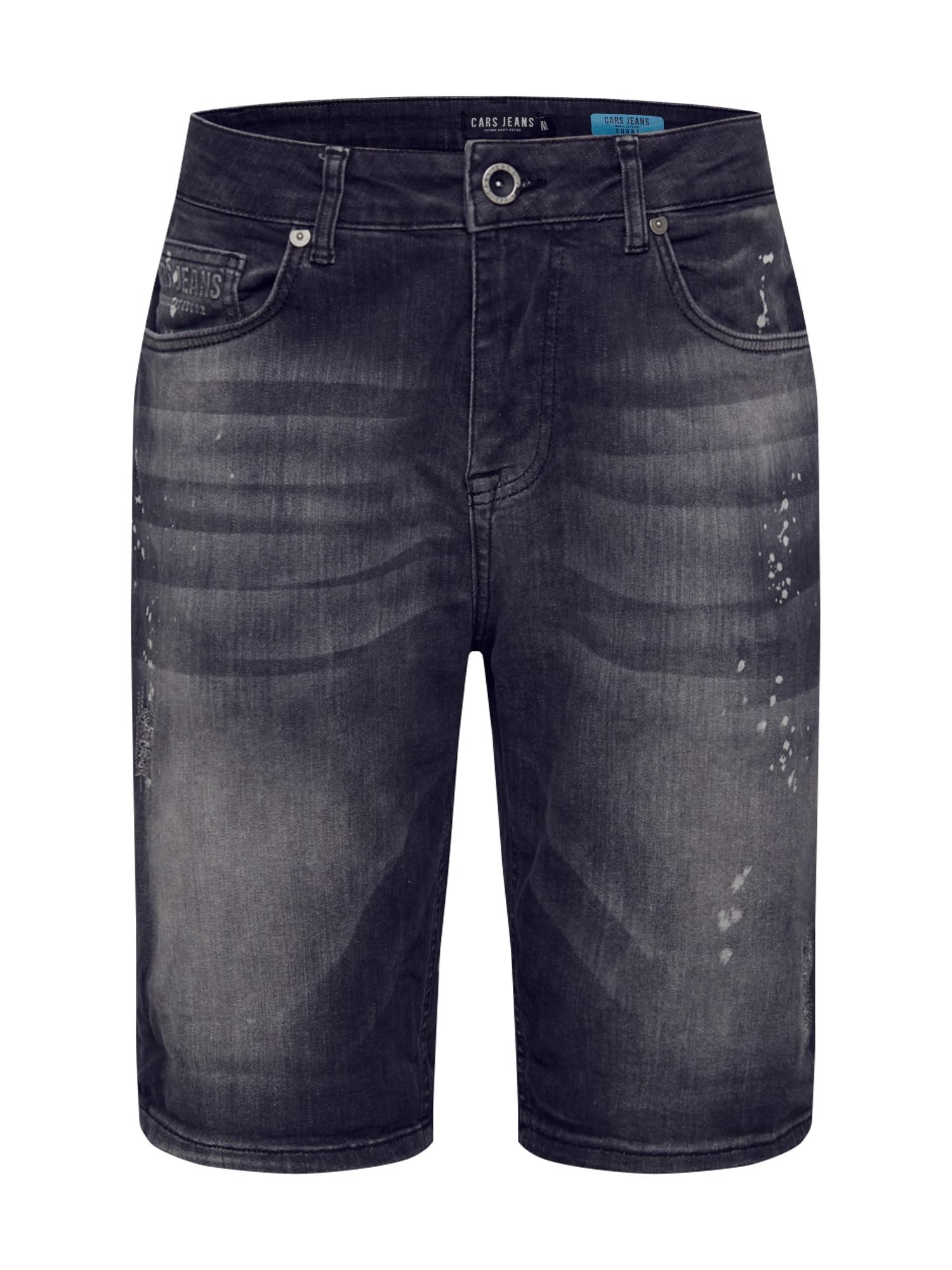 Cars Jeans Džinsai 'BARIS' juodo džinso spalva