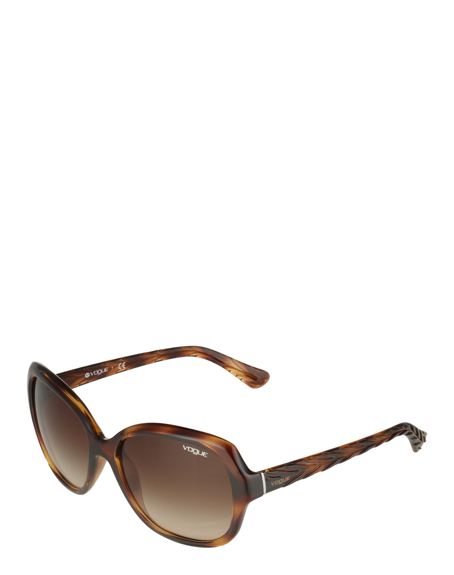 VOGUE Eyewear Akiniai nuo saulės ruda / tamsiai ruda