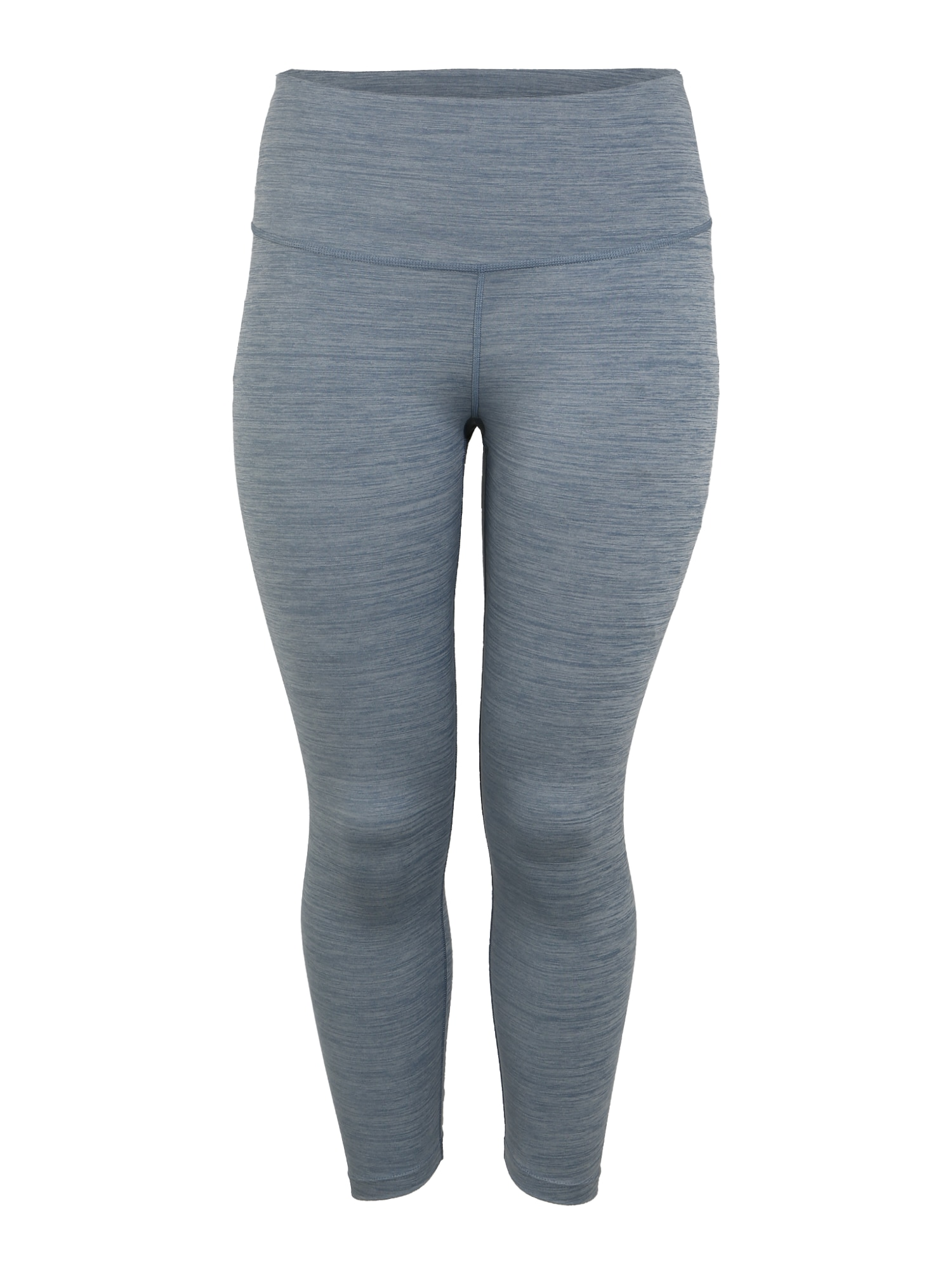 NIKE Športové nohavice  sivá / modré