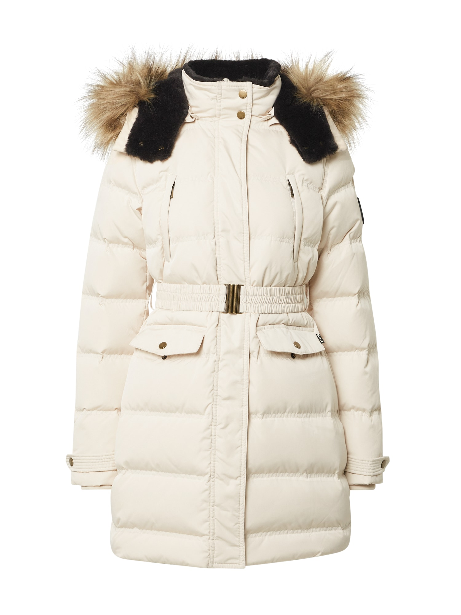 Pepe Jeans Zimní bunda  béžová