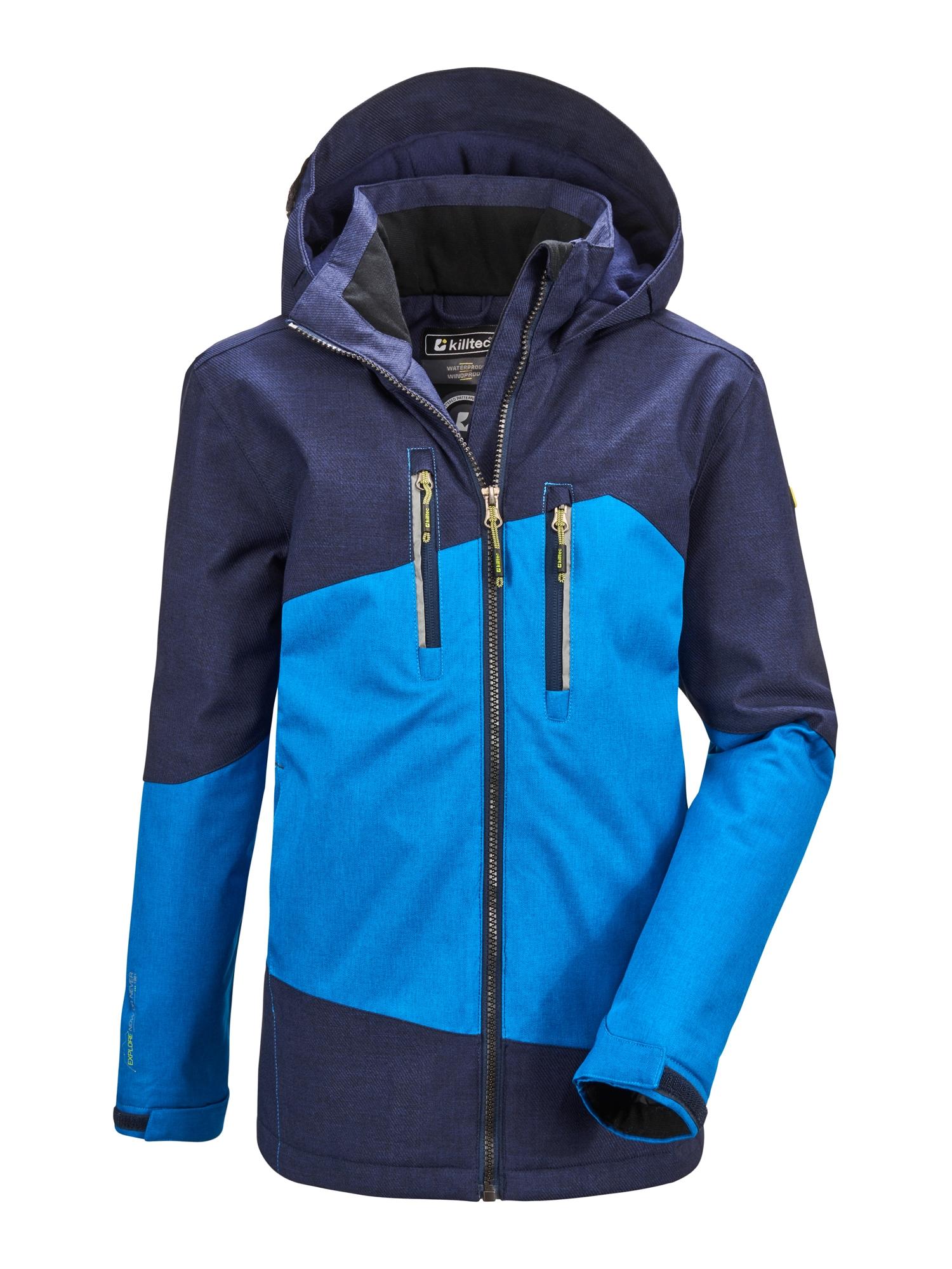 KILLTEC Zimní bunda 'Lynge'  tmavě modrá / nebeská modř