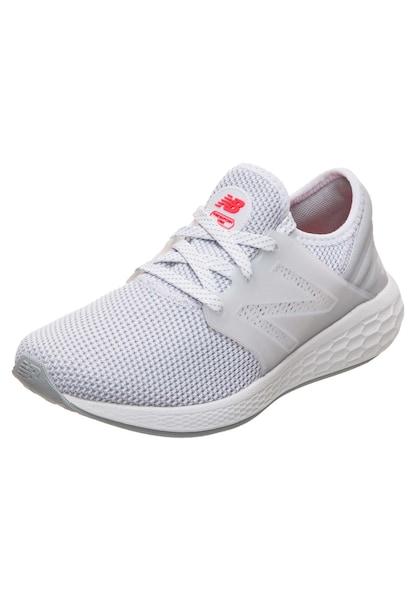 Sportschuhe für Frauen - New Balance 'Fresh Foam Cruz v2' Sport Laufschuh grau weiß  - Onlineshop ABOUT YOU
