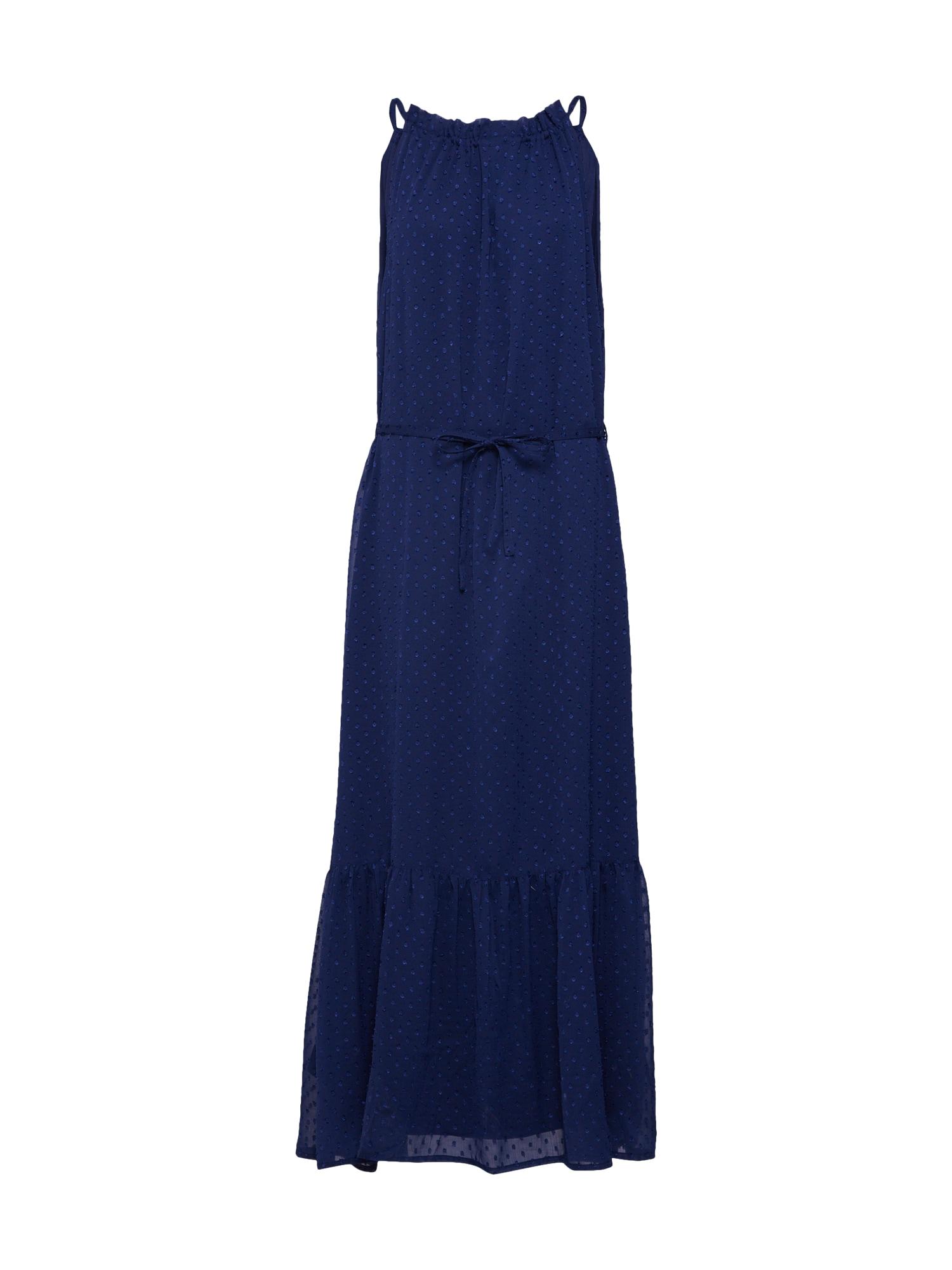 Letní šaty ITAK-DR námořnická modř SISTERS POINT
