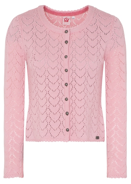 Jacken - Strickjacke 'Krista' › SPIETH WENSKY › rosa  - Onlineshop ABOUT YOU