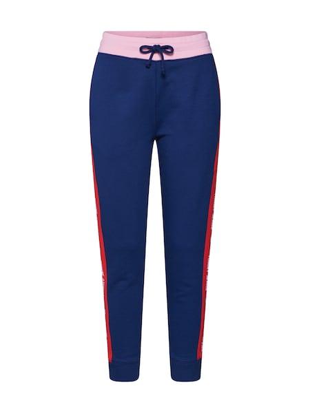 Hosen für Frauen - Tommy Jeans Hose navy pink rot  - Onlineshop ABOUT YOU
