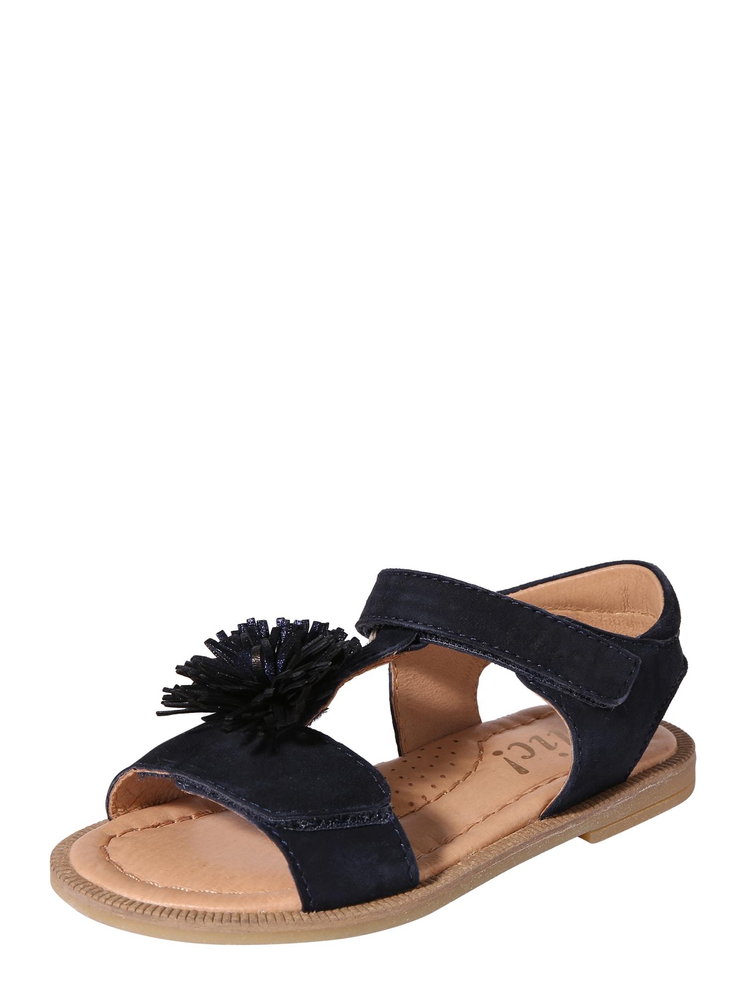 Sandály CL-9722 tmavě modrá Clic