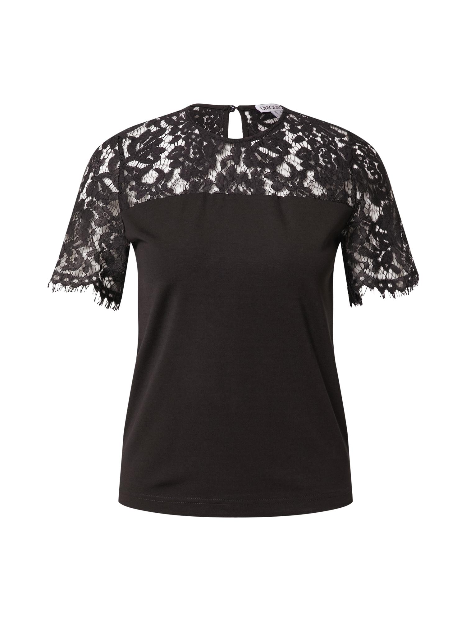 Unique21 Marškinėliai juoda